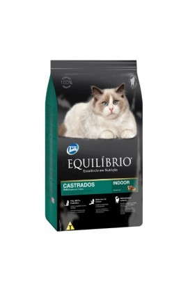 Alimento Equilibrio gato castrado +7